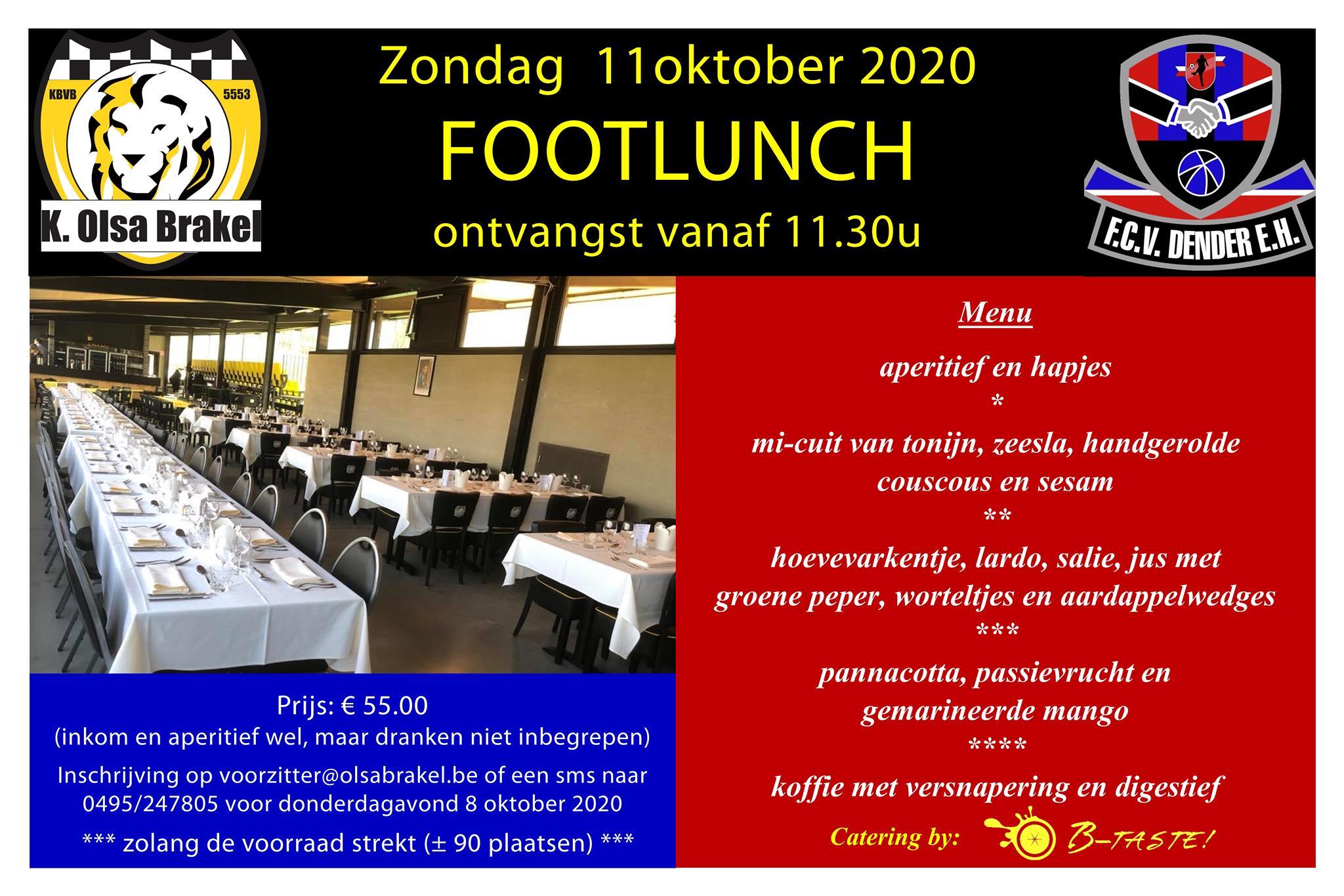Footlunch n.a.v. OLSA-Dender
