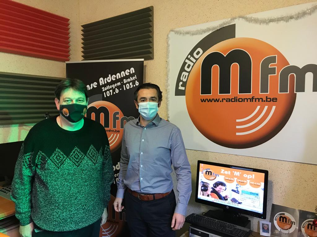 CEO Olsa - interview bij radio MFM-Sport