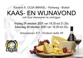 Kaas- en wijnavond 2021