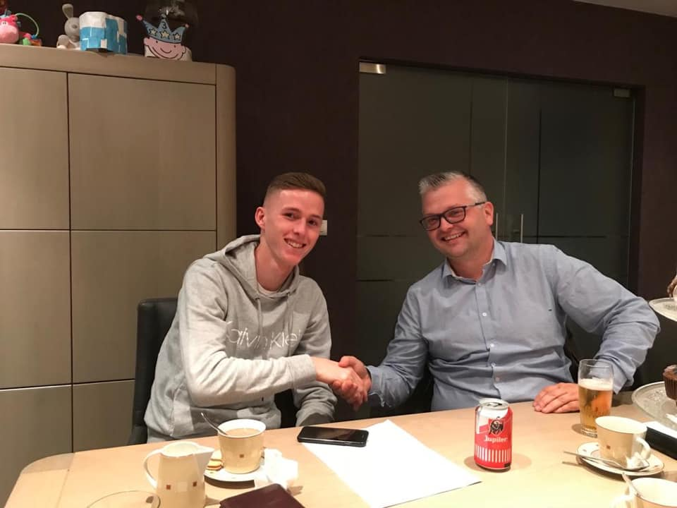 Kevin De Haspe verlengt overeenkomst