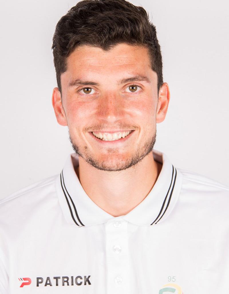 Nieuwe centrale verdediger Karel Van Lierde